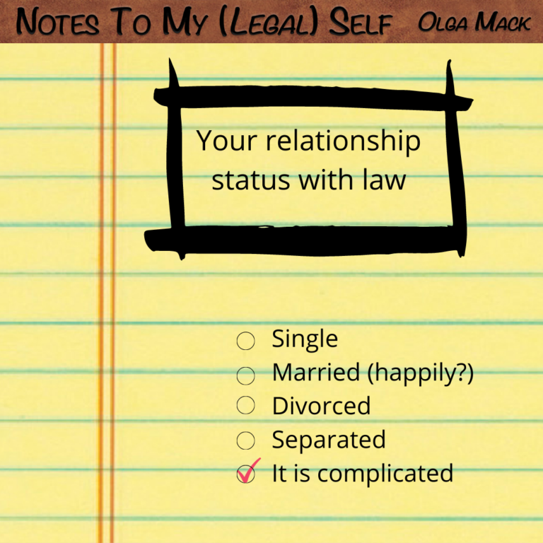 Your Relationship With Law, IG (1)